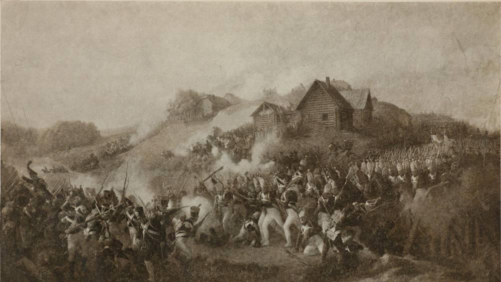 В память о герое Отечественной войны 1812 г. Я.П.Кульневе