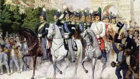 6 января Александр I подписал манифест об окончании Отечественной войны