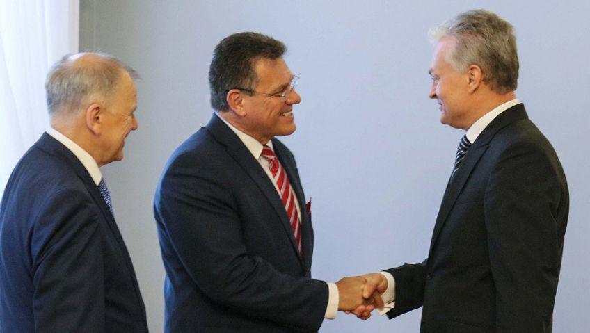 Президент и вице-председатель ЕК обсудили проекты энергетической независимости