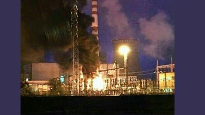 На Украине произошел пожар на Ровенской АЭС