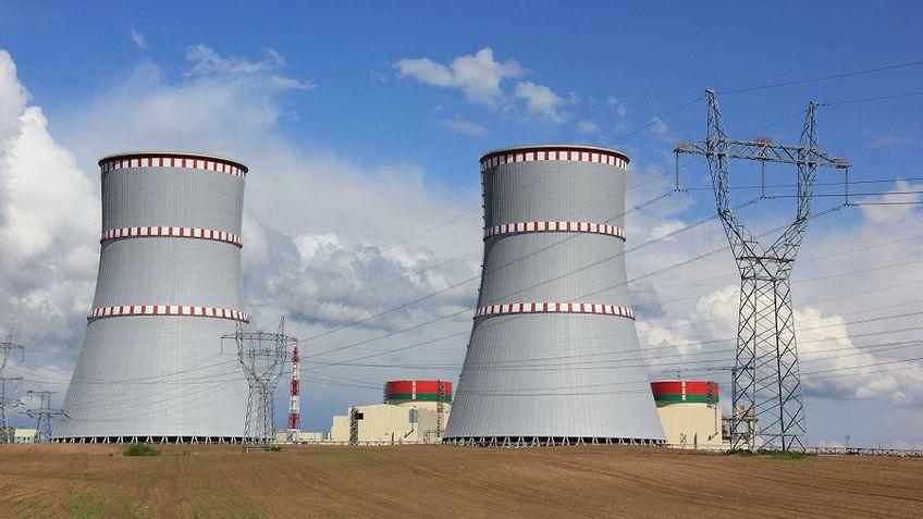 В Минске сообщили, что в ближайшие дни энергоблок Белорусской АЭС снова подключат к сети