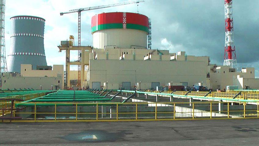 Первый энергоблок БелАЭС включили в объединенную энергосистему Белоруссии