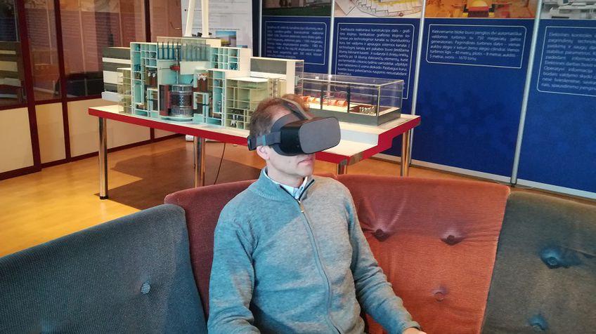 Игналинская АЭС – в виртуальной реальности